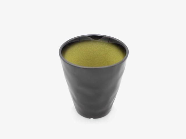 3JHLBZ 金黄绿杯子 7.5x8.5cm 6个