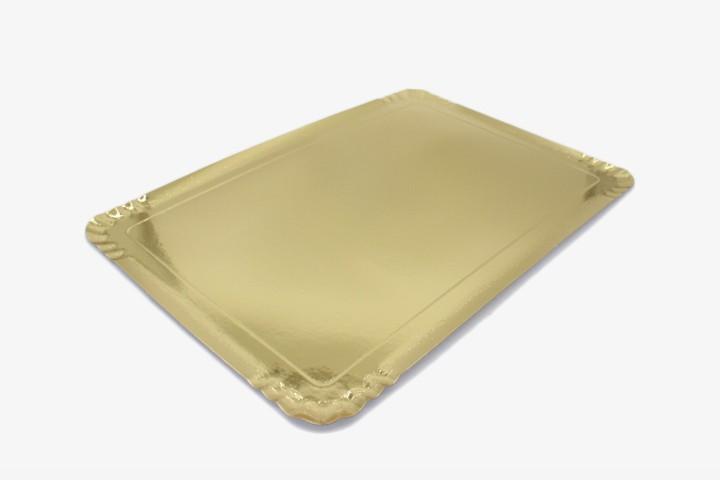 JZP42 大号金纸盘 42x29cm 150只