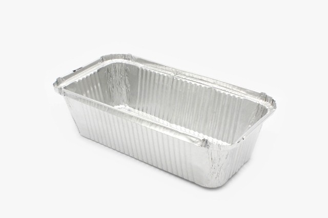 R44L 铝箔打包盒 二份盒 可加盖 1200只