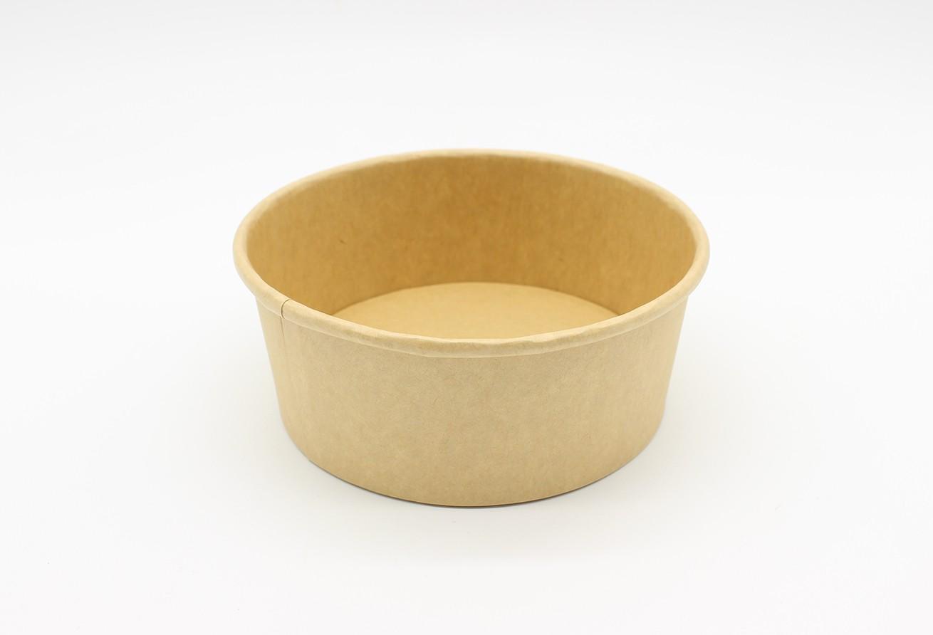 SL750NP 竹色纸碗 (750ML) - 300只