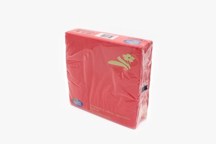 T33HS 红色餐巾纸 33x33cm 2400张