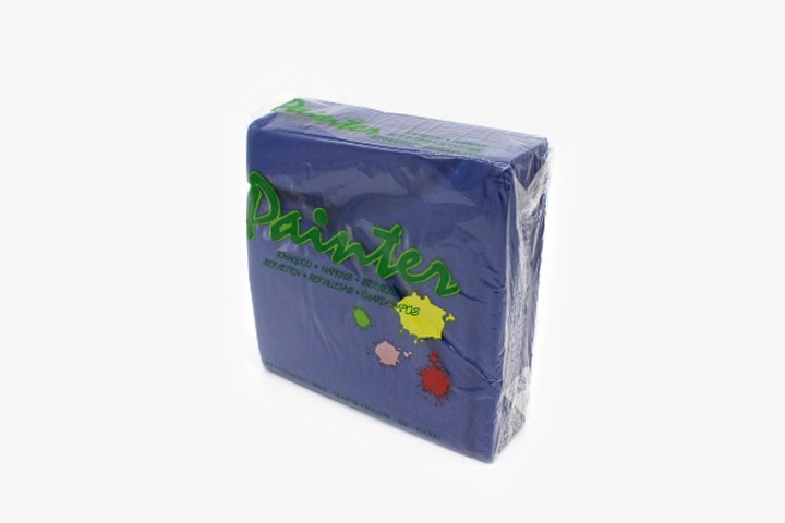 T33LBP 蓝色餐巾纸 33x33cm 2400张