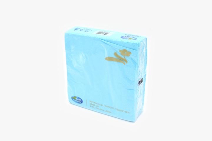 T33QLS 天蓝色餐巾纸 33x33cm 2400张