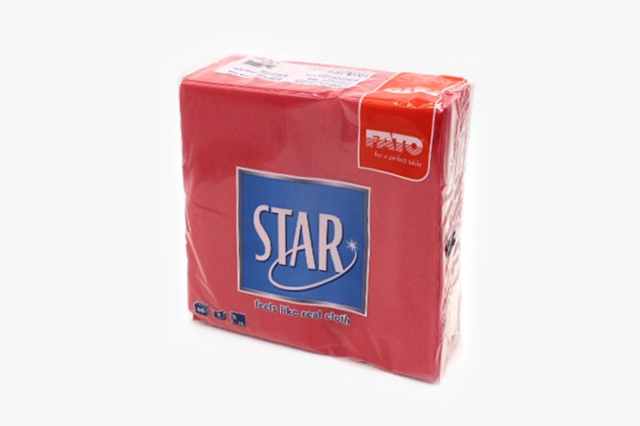 T38HRF 红色餐巾纸 38x38cm 1200张