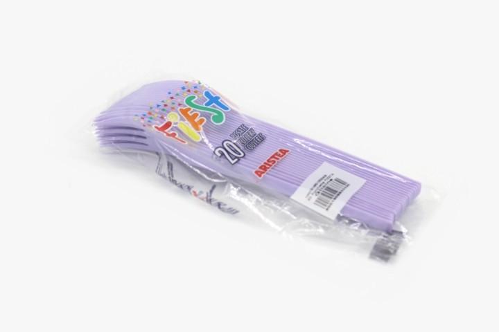 ZC20V 紫色一次性叉子 480只