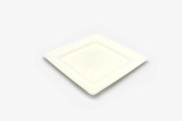 ZJP8 纸浆正方盘 20.5x20.5cm 500只
