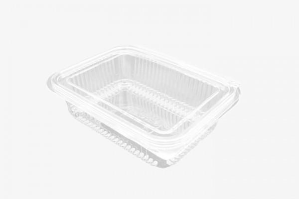 750CC 透明塑料盒连盖 400只