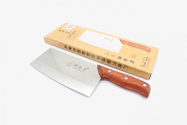 CLTCD 厨老太红柄木菜刀 1把