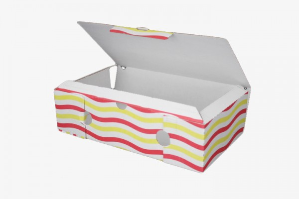 P19 Pizza纸盒连盖 18x33cm 100只