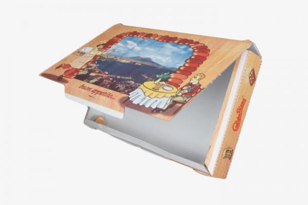 P23 PIZZA纸盒连盖 23x38cm 100只
