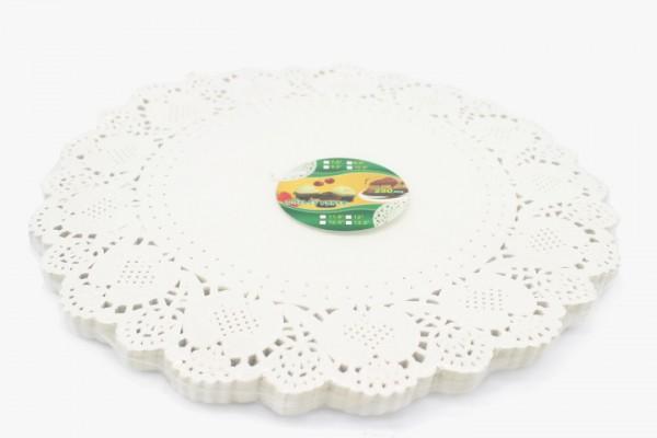 YXHDZ14 圆形花纸垫 36cm 2000张