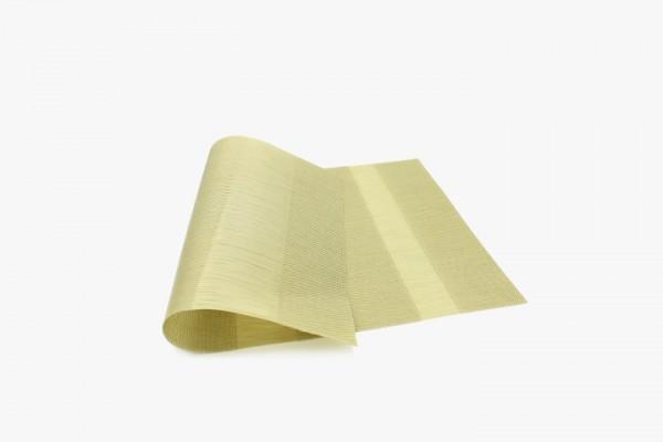 JSSDCS 金色三断抽丝塑料桌垫 30x45cm 20张